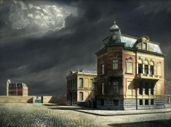 Willink, Carel (Dutch, 1900-1983) View of Town 1934
