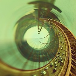 "Amazing. welovephoneography:  ""The Golden Mean"" by @fliptheu. An awesome Tiny Planet Photo + Instagram of San Fran's famous Golden Gate Bridge."