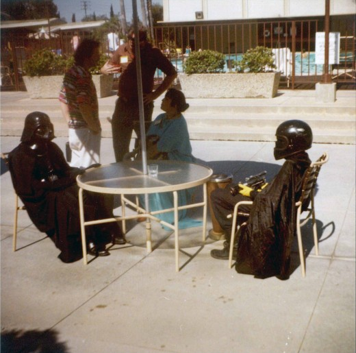 Sci-fi Convention, Los Angeles, 1980 This gallery is amazing.