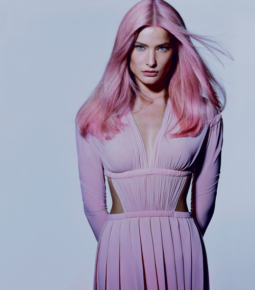 tmagazine:  Easter Bonnets: The new pastel hair is more pretty than punk.