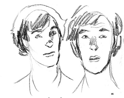 A couple of funny Sherlock sketches.
