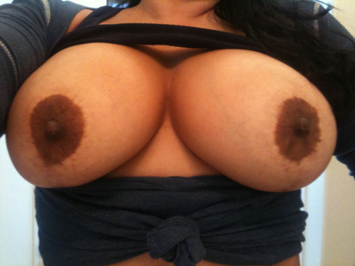 "mrjody:  thickwifeslady:  Happy Titty Tuesday!! Hope everyone enjoys my titties!! "";{•}  Salivating like a mutha! Had to reblog these beauties!"