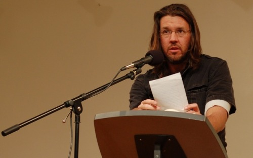 "theatlantic:  Remembering David Foster Wallace at 50: To commemorate the late writer's birthday, we dug through our archives to find his Atlantic pieces — and the best of those written about him. (Apologies for the length, we couldn't help ourselves!) ""Just Asking,"" a November 2007 essay about terrorism in America:  Are you up for a thought experiment? What if we chose to regard the 2,973 innocents killed in the atrocities of 9/11 not as victims but as democratic martyrs, ""sacrifices on the altar of freedom""? In other words, what if we decided that a certain baseline vulnerability to terrorism is part of the price of the American idea? And, thus, that ours is a generation of Americans called to make great sacrifices in order to preserve our democratic way of life—sacrifices not just of our soldiers and money but of our personal safety and comfort? In still other words, what if we chose to accept the fact that every few years, despite all reasonable precautions, some hundreds or thousands of us may die in the sort of ghastly terrorist attack that a democratic republic cannot 100-percent protect itself from without subverting the very principles that make it worth protecting?  ""Host,"" a April 2005 feature about conservative radio host John Ziegler:   It is true that no one on either side of the studio's thick window expresses or even alludes to any of these objections. But this is not because Mr. Z.'s support staff is stupid, or hateful, or even necessarily on board with sweeping jingoistic claims. It is because they understand the particular codes and imperatives of large-market talk radio. The fact of the matter is that it is not John Ziegler's job to be responsible, or nuanced, or to think about whether his on-air comments are productive or dangerous, or cogent, or even defensible. That is not to say that the host would not defend his ""we're better"" — strenuously — or that he does not believe it's true. It is to say that he has exactly one on-air job, and that is to be stimulating. An obvious point, but it's one that's often overlooked by people who complain about propaganda, misinformation, and irresponsibility in commercial talk radio. Whatever else they are, the above-type objections to ""We're better than the Arab world"" are calls to accountability. They are the sort of criticisms one might make of, say, a journalist, someone whose job description includes being responsible about what he says in public. And KFI's John Ziegler is not a journalist — he is an entertainer. Or maybe it's better to say that he is part of a peculiar, modern, and very popular type of news industry, one that manages to enjoy the authority and influence of journalism without the stodgy constraints of fairness, objectivity, and responsibility that make trying to tell the truth such a drag for everyone involved. It is a frightening industry, though not for any of the simple reasons most critics give.  ""The Alchemist's Report,"" a February 1996 review of Infinite Jest:  Wallace is scrabbling along the high-terrain paths earlier explored by Thomas Pynchon and William Gaddis. Indeed, not only does he share with both a mordantly black view of modern and late-modern experience, but he also has a penchant for weaving long braids from enticingly antiphonal plots, each of which is differently absorbing, if not for its characterizations or imaginative brio then for the sharp snap of its thought, the obsessiveness of its informational reference (hence the notes), or—and—the incandescence of the writing. […] Whatever aesthetics we espouse, we are all closet traditionalists in our expectations—and these must be shelved. Wallace rebuts the prime-time formula. Think Beckett, think Pynchon, think Gaddis. Think.  ""The Challenge of Writing About David Foster Wallace,"" an April 2010 review of David Lipsky's biography:  Some personalities lend themselves well to biographies and profiles. These lives can be neatly packaged, edited, and bound. They can be organized into chapters, narratives, lists, and an index. And though these biographies might not make great literature, they can be thrilling to read (cf: Richard Burton). But some lives can't be defined by the adventures therein; some possess an intellect so vast and frenetic that, consequently, it's mostly inaccessible to the profiler and, in turn, the reader. See: Wallace, David Foster. Wallace was the rare literary wunderkind to enjoy renown even outside the literary community. His gargantuan talent (the acclaimed Harper's pieces, the dazzling Infinite Jest, the bestowment of the Genius Award), and to a lesser degree, his life story (Midwestern upbringing, junior tennis whiz, drug and alcohol use, electroconvulsive therapy) propelled him into literary superstardom. On two occasions the spotlight was especially acute: following the publication of his opus Infinite Jest in 1996, and when he took his own life in September 2008.  And many, many more. RIP, DFW."