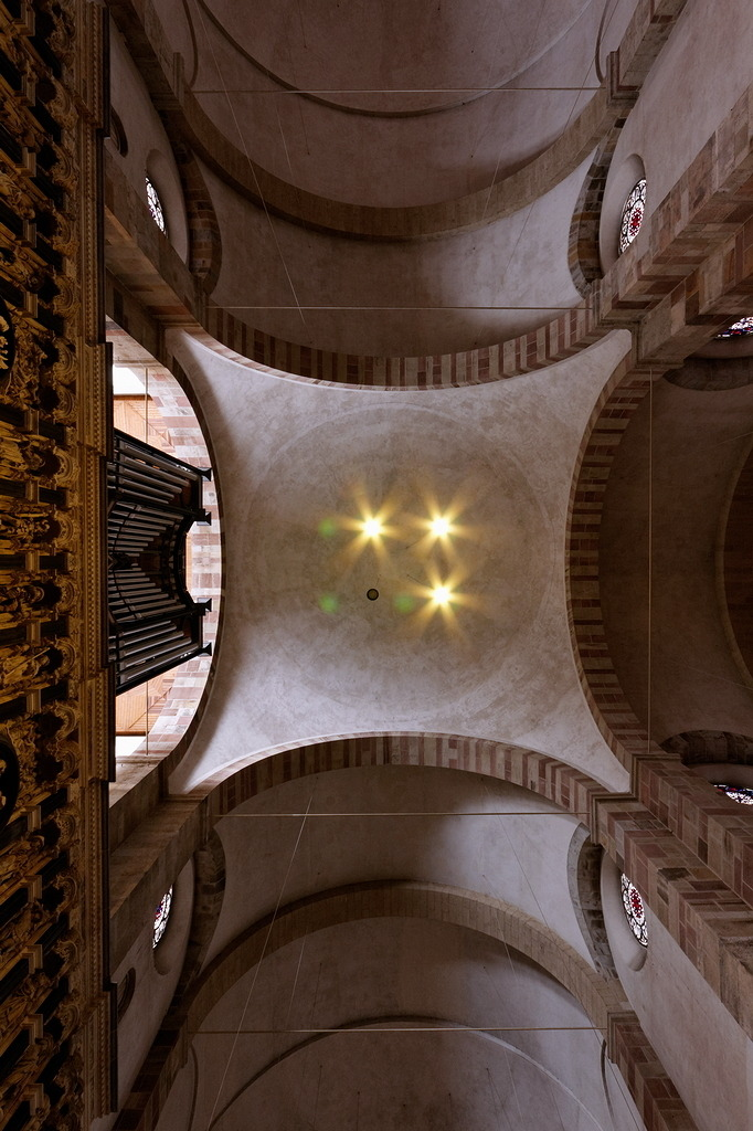 The central cupola in St Maria im Kapitol, Cologne
