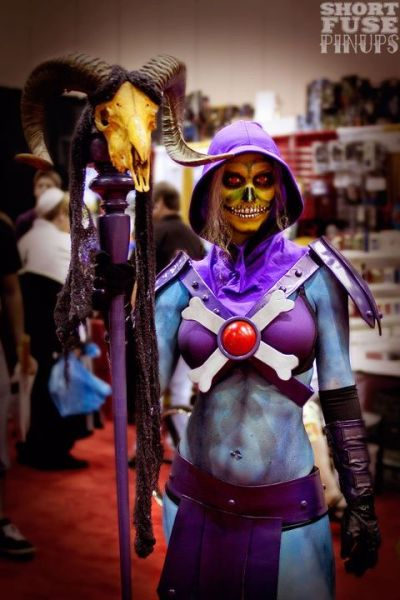 Rule 63 Skeletor - MegaCon 2012 | photo by Short Fuse Pinups (shortfusepinups)  A note from the photographer: Please let me know if this is you or someone I know so I can give proper credit! All of my MegaCon photos are also in this facebook album if you'd like to tag yourself or anyone you recognize.