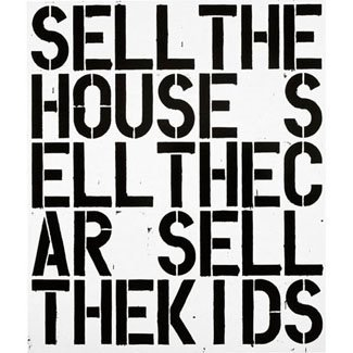 This Christopher Wool painting.