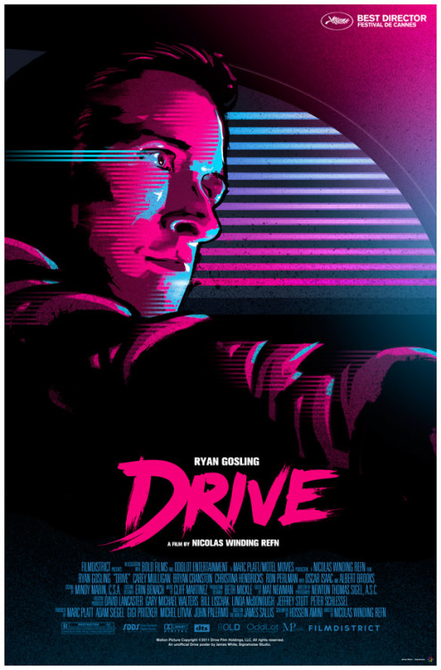 ro-ro-romeo:  Drive - unofficial poster.  Unofficial but one of the best out there.