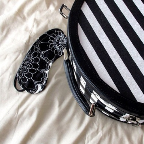katespadeny:  packing for seattle. this eye mask will definitely be needed on the flight west! (Taken with instagram)