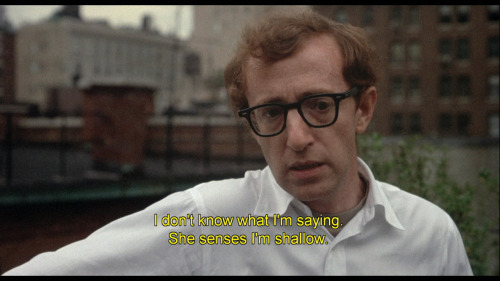 Woody Allen in Annie Hall (1977)Dir: Woody Allen; Ph: Gordon Willis