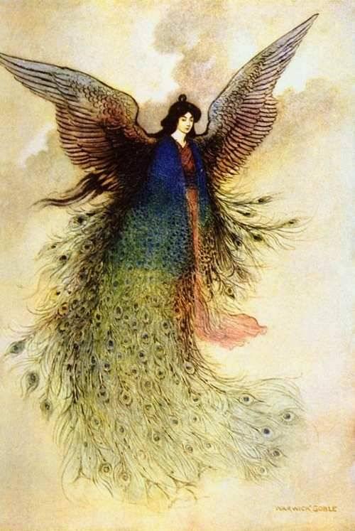 Moon Maiden (Warwick Goble)