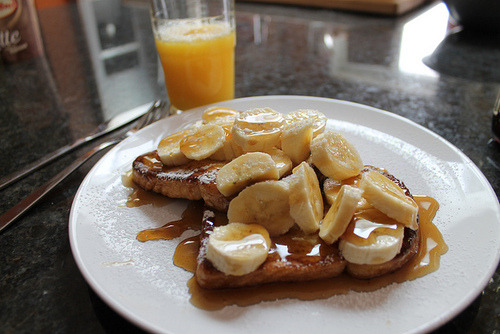 Bananas and French Toast