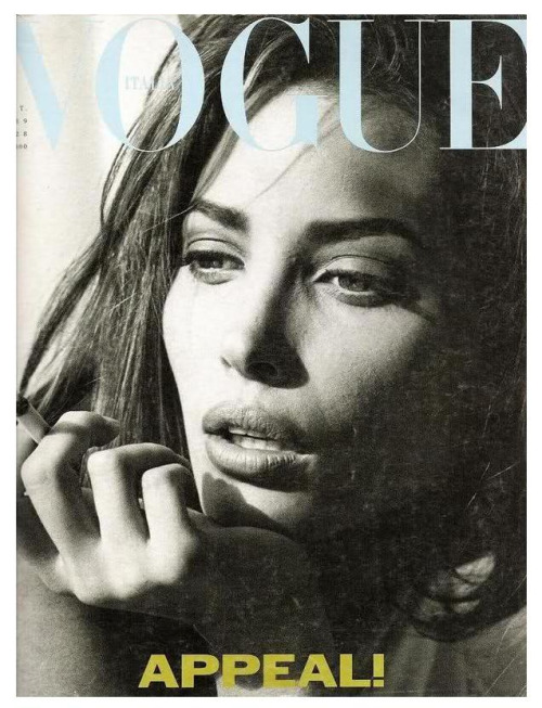 nearlyvintage:  STEVEN MEISEL - CHRISTY TURLINGTON 1989