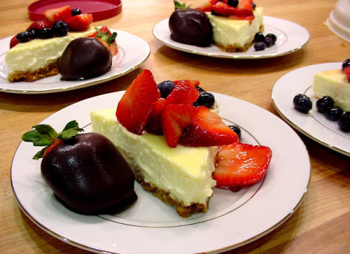 Chocolate Strawberry with Classic cheesecake