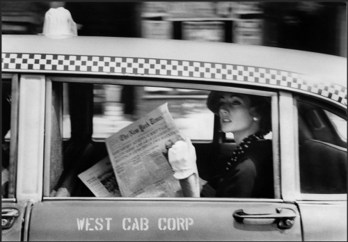 "via NYT Lens Blog - A Lonely Gaze on The Times and Its City by Robert Frank In 1958, the promotion department of The New York Times hired a young Swiss expat to take pictures that were collected in a slim hardcover book for prospective advertisers. The book, ""New York Is,"" extolled the virtues of the city and of the newspaper as the best way to tap its prosperous postwar consumers."