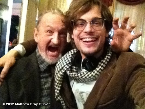 "gublernation:  me and an old friend from my nightmares on the set of ""Heathridge Manor"" View more GUBLERNATION on WhoSay"
