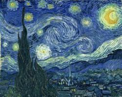 Impressionism (1860-1880s) Key Artists: Vincent Van Gogh, Edouard Manet, Mary Cassatt Summary: Impressionism came about as many painters, originally in Paris, strived to break away from traditional art. Impressionist painters were often done spontaneously and quickly only to capture movement. Nature was often emphasized as colors was used to capture it. Color and line was the focus of impressionists as they often experimented to deliberately be different from their predecessors. My Opinion: I don't like impressionism too much because it seems messy to me and confusing. I like art that is concise. I do like the fact that it captures movement and is spontaneous. Impressionism gives me a light feeling where I feel that life is one blended motion.