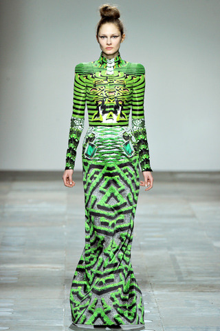 Mary Katrantzou Fall RTW 2012