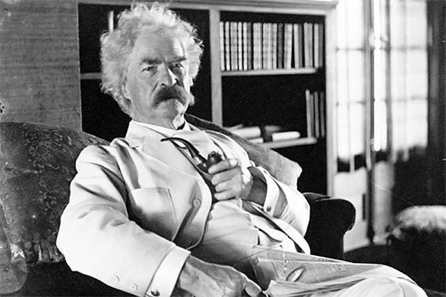 "Mark Twain's 9 Tips For Living An Awesome Life 1. Approve of yourself. ""A man cannot be comfortable without his own approval.""  2. Your limitations may just be in your mind.  ""Age is an issue of mind over matter. If you don't mind, it doesn't matter.""    3. Lighten up and have some fun.   ""Humor is mankind's greatest blessing.""  ""Against the assault of laughter nothing can stand."" 4. Let go of anger.   ""Anger is an acid that can do more harm to the vessel in which it is stored than to anything on which it is poured."" 5. Release yourself from entitlement.   ""Don't go around saying the world owes you a living. The world owes you nothing. It was here first."" 6. If you're taking a different path, prepare for reactions.   ""A person with a new idea is a crank until the idea succeeds."" 7. Keep your focus steadily on what you want.  ""Drag your thoughts away from your troubles… by the ears, by the heels, or any other way you can manage it.""  8. Don't focus so much on making yourself feel good.""The best way to cheer yourself up is to try to cheer somebody else up."" 9. Do what you want to do.  ""Twenty years from now you will be more disappointed by the  things that you didn't do than by the ones you did so. So throw off the  bowlines. Sail away from the safe harbor. Catch the trade winds in your  sails. Explore. Dream. Discover.""  (Easier said than done Mark…) { lickypickystickyfree }"