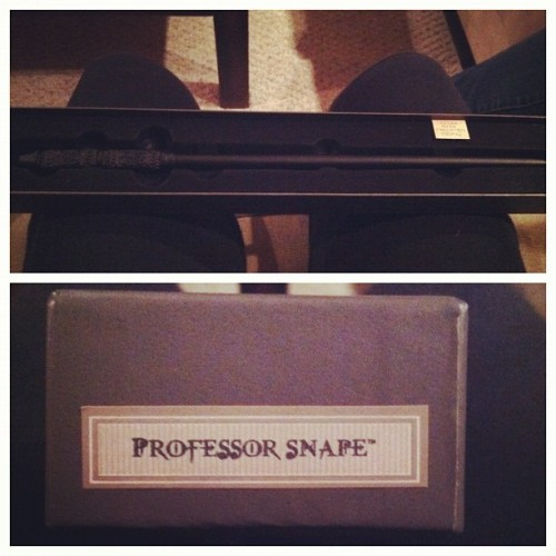 @laurawills is the best! #harrypotter #snape #severussnape (Taken with instagram)