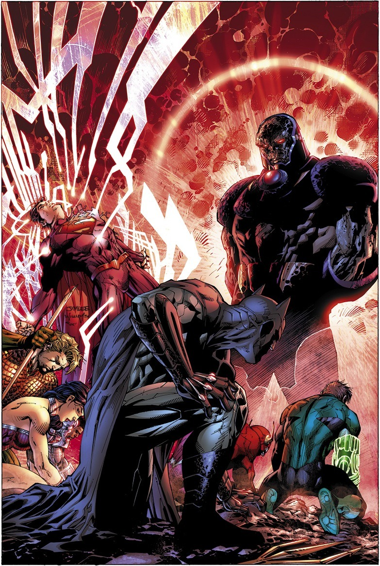 comicbookdeviant:  Justice League #6 // Cover Art by Jim Lee