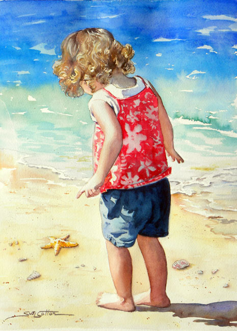 Beach Discovery by Sue Lynn Cotton