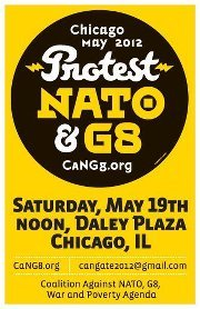(Photo) Protest NATO & G8 - Chicago, May 2012! ■ No to War and Austerity! ■ Money out of politics! Represent for the people, not the money! ■ No to NATO/G-8 Warmakers! ■ Jobs, Healthcare, Education, Pensions, Housing & the Environment, Not War!