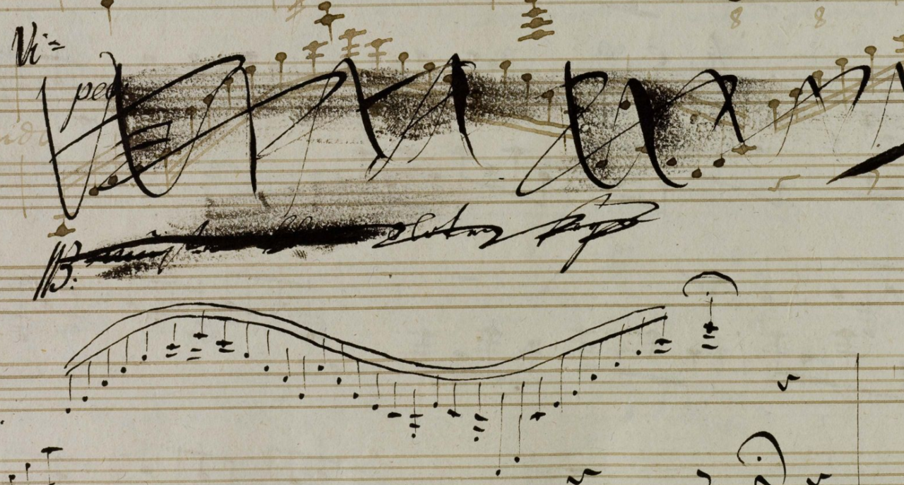 missfolly:  Musical notation by Ludwig van Beethoven (I)