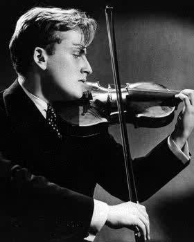 "classicalmusicart:  MENUHIN TIPS: Menuhin always practiced with a heavy metal mute. He only heard the full voice of the violin when on stage! -This could have been mostly due to his having to practice in hotel rooms, but he writes that he actually preferred the peacefulness of the sound. Menuhin used alcohol to clean his fingerboard, but he used fine steel wool to clean rosin off his strings and violin top. ( ! ) ""Many people don't realize that it takes considerably mort art & skill to play the violin lightly than it does to play it loudly. The best possible training for a young violinist is learning to play pianissimo and without pressure."" He considered rubato to be a form of improvisation, and urged that this be practiced and accentuated as much as possible. BREATHING: (esp when lying on one's back) ""Feel the air pushing against the spine."" -this is a wonderfully simple way to describe a somewhat complex physical act. On the bow-hold: ""It is absolutely vital to hold it as lightly as possible - rather as one might pick up a newborn bird…"" ""One should feel, in the right arm, the sensation of the bowhair on the strings… The moment tension or hardness enters… the vibrations will not be felt."""
