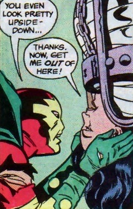 thehappysorceress:  comicbookkissyface:  Mister Miracle v2 Special  Scott & Barda are the best.