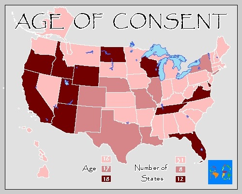 Age of dating consent in california