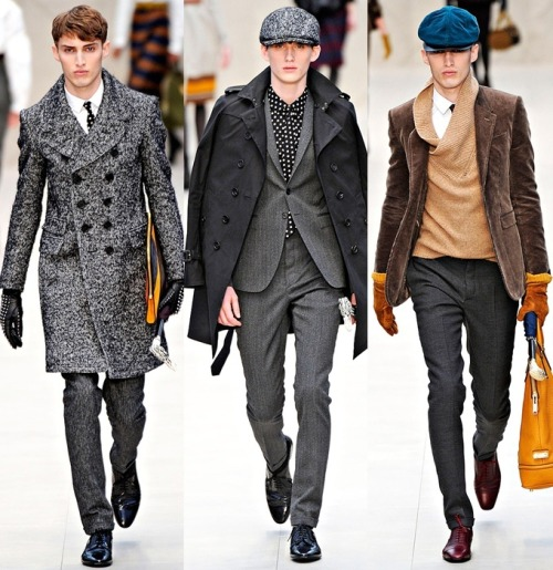 the boys of Burberry Fall 2012