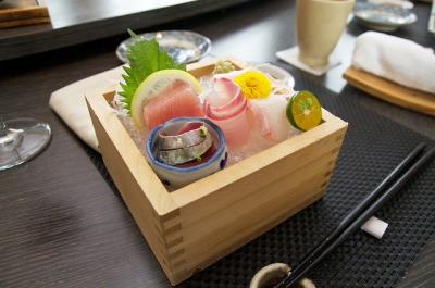 Ton28 Sashimi Course by camike on Flickr.