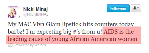 anthagio:  anthagio:  Nicki Minaj explains where African American women come from.  Still funny.