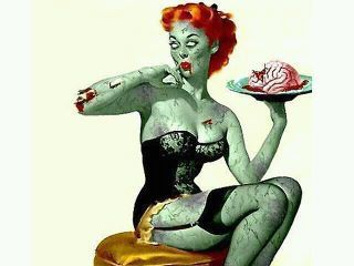 Sure, Ill be a pin up zombie