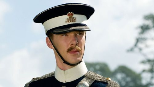 That sir is the sexiest mustache I've ever seen :P I mean it just adds to the overall sexiness of this man. WHY THE HELL HAVE I FALLEN FOR BENEDICT CUMBERBATCH WITH A MUSTACHE XD
