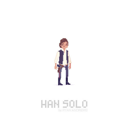 Inspired by Zac Gorman to try some pixel fan art :) First time doing any pixel art since I used Mario Paint in junior high school. Good times.