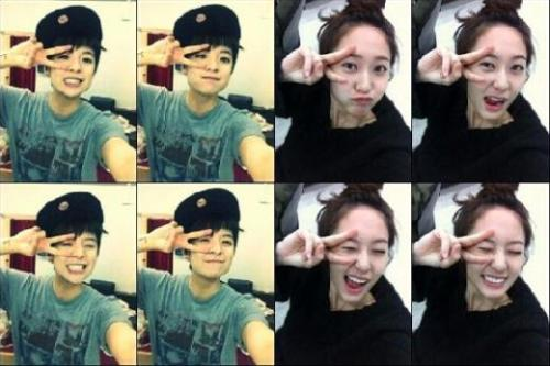 "f(x)'s Krystal Shares a Photo Collage with Amber  f(x)'s Krystal recently shared a couple photo collage with Amber. On February 21st, Krystal posted on me2day, ""Aegyo to each other…ha…"", with the collage attached. In the photos, Amber and Krystal are making the same cute faces and poses in the opposing photos. Netizens commented, ""Wow! It's Amber!"", ""Krystal unni is so pretty!"", ""You two are both so cute hehe"", and gave explosive feedback. In related news, Krystal is receiving love from viewers as part of the cast on MBC's ""High Kick 3″"