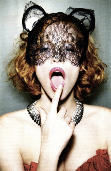 bohemea:  Jessica Chastain - Vanity Fair by Ellen von Unwerth, August 2011