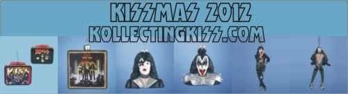 KISSmas 2012 is starting out with 6 newly approved KISS ornaments.