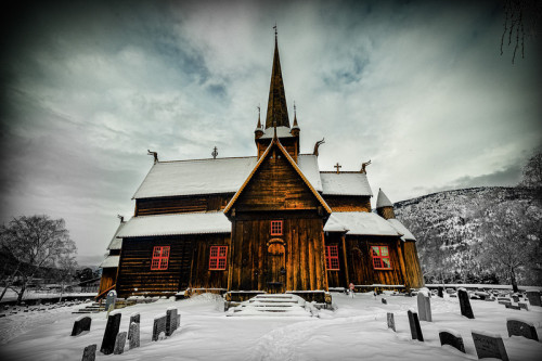 Image of the DayThe Stave Church Lom Norway