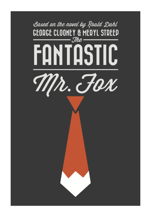 minimalmovieposters:  Fantastic Mr. Fox by Bethany Johnson