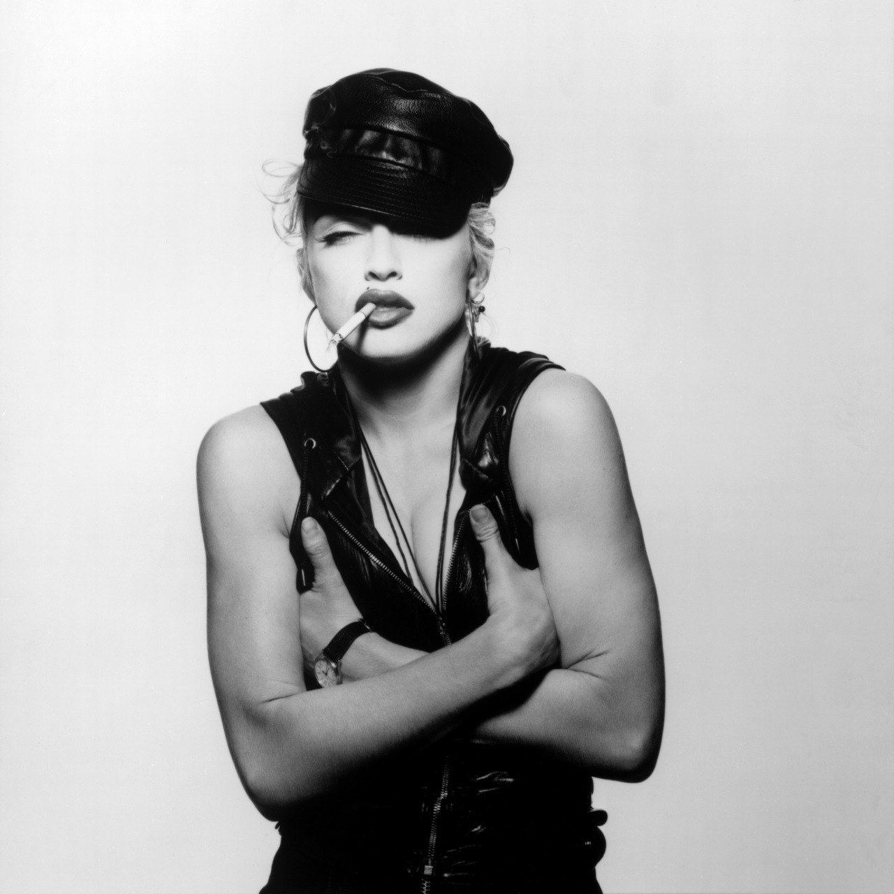 Madonna photographed by Patrick Demarchelier in 1991