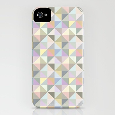 ushiyam:  soxiety6 by INDUR  Shapes 003 iPhone Case