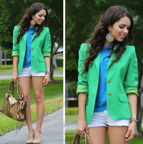 lookbookdotnu:  Sea green… see blue (by Daniela Ramirez)