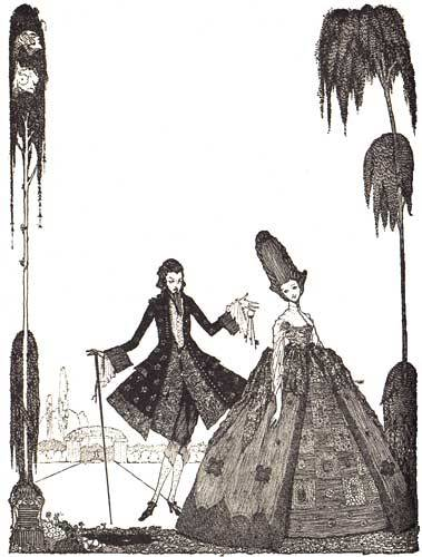 noraanddora:  Bluebeard by Harry Clarke