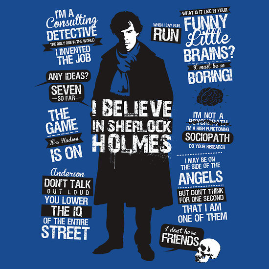 """Sherlock Quotes"" by Tom Trager. Sherlockians Rejoice!