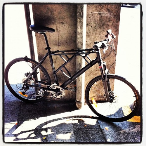 Jolie remplaçante!  #bike #vélo #velo #bicycle  (Taken with instagram)