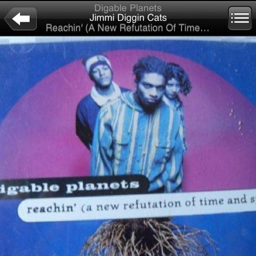 "#NP Digable Planets "" Jimi diggin cats "" #butterfly #ladybug #doodlebug #goldenera #trueschool  (Taken with instagram)"