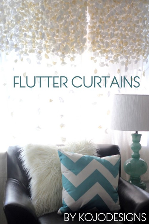 Flutter Curtain Tutorial. Really Sweet!