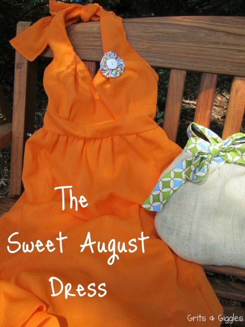 Tutorial for the Sweet August Dress from Grits and Giggles